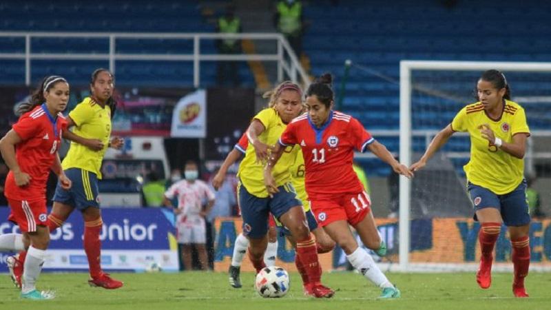 Segunda victoria de la Selección Colombia Femenina ante Chile